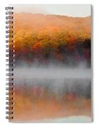 Foilage In The Fog Spiral Notebook