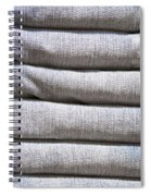 Folded Denim Spiral Notebook