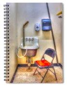 Folding Chair Spiral Notebook