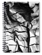 Folding Structure I Spiral Notebook