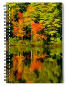 Foliage In New Hampshire Spiral Notebook