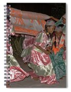 folk dance group from Madagascar 2 Spiral Notebook