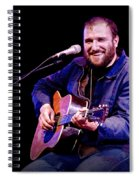 Folk Musician David Bazan In Concert Spiral Notebook