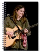 Folk Musician Denise Franke Spiral Notebook