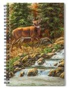 Whitetail Deer - Follow Me Spiral Notebook