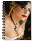 Follow Me Into The Night Spiral Notebook