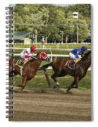 Follow Me To The Finish Spiral Notebook