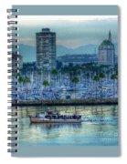 Follow That Boat Spiral Notebook