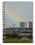 Follow That Rainbow Spiral Notebook
