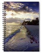 Follow The Light Spiral Notebook