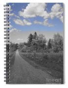 Follow The Road Spiral Notebook