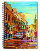 Follow The Yellow Brick Road Spiral Notebook