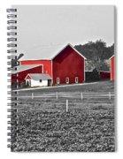 Follow The Yellow Dirt Road Spiral Notebook