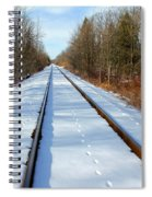 Follow Your Own Path Spiral Notebook