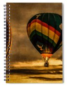 Following Amazing Grace Spiral Notebook