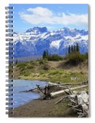 Following The Athabasca River Spiral Notebook