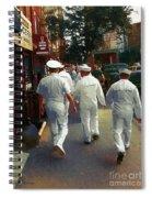 Following The Fleet Spiral Notebook