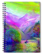 Love Is Following The Flow Together Spiral Notebook