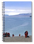 Following The Footsteps Of  Roald Amundsen.. Spiral Notebook