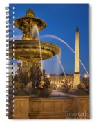 Fontaine Des Mers Spiral Notebook