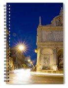 Fontana Dell'acqua Felice Spiral Notebook