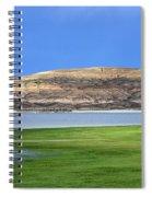 Fontenelle Reservoir Summer Thunderstorm  Spiral Notebook