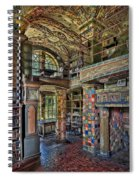 Fonthill Castle Library Room Spiral Notebook