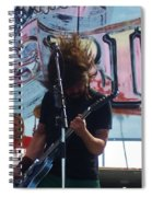 Foo Fighters Love Ride 25 Spiral Notebook