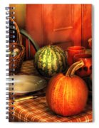 Food - Nature's Bounty Spiral Notebook