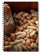 Food - Peanuts  Spiral Notebook