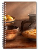 Food - Pie - Mama's Peach Pie Spiral Notebook
