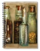 Food - The Ingredients  Spiral Notebook