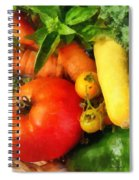 Food - Vegetable Medley Spiral Notebook