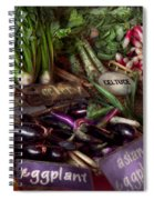 Food - Vegetables - Very Fresh Produce  Spiral Notebook