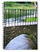 Foot Bridge At Inistioge Spiral Notebook