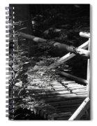 Foot Bridge Spiral Notebook