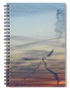 Foot In The Sky Spiral Notebook
