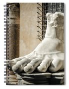 Foot Of Constantine Spiral Notebook