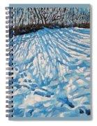 Foot Prints Spiral Notebook