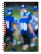 Football Sideline Marker Spiral Notebook
