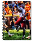 Football Time In Tennessee Spiral Notebook