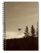 Foothills Flight Spiral Notebook