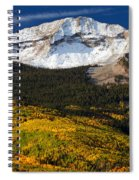 Foothills Of Gold Spiral Notebook