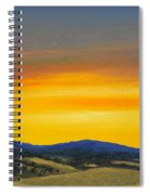 Foothills Sunrise Spiral Notebook