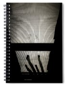 Footsteps And Faces Spiral Notebook