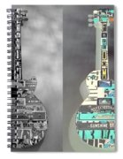 For American Guitars  Spiral Notebook