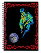 For Earth Below #2 Spiral Notebook