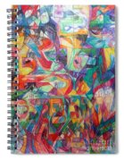 For He Nourishes And Sustains All Spiral Notebook