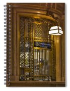 For Service Ring Bell Gct Spiral Notebook
