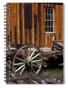 For Spare Parts Spiral Notebook